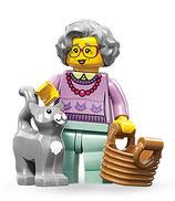 LEGO MINIFIGURA SERIE 11 | Nº 14 ABUELA