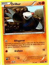 POKEMON CARTA FUERZA 54/98 DRILBUR