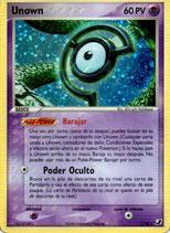 POKEMON CARTA PSICO C/28 UNOWN (HOLO)