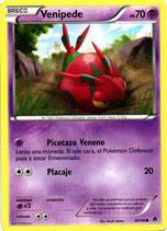 POKEMON CARTA PSICO 38/98 VENIPEDE