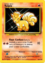 POKEMON CARTA FUEGO 68/102 VULPIX