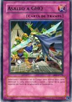 YUGIOH TRAMPA | 62633180 ASALTO A GHQ (TITULO PLATEADO) DR3