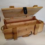 Holzpräsentkiste für Wein