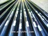 exel stecche carbonio vuoto D. 4mm