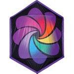 Rokkaku rainbow 198cmx160cm
