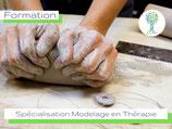 Spécialisation Modelage et Terre en Art Thérapie Inscription