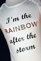 Romper; I'm the rainbow after the storm
