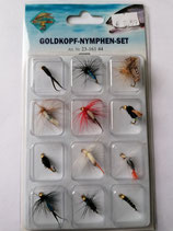Goldkopf- Nymphen Set