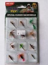 Spezial Fliegen Bachforelle