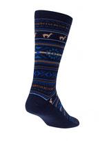Alpaka Jacuard Socken