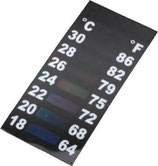 SLIM&SHORT LCD-THERMOMETER ca. 46x19mm