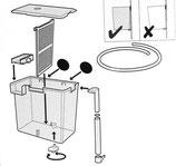 Ablaichbehälter mit Zirkulationssystem