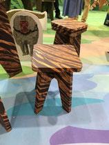 オリジナルデザイン 強化ダンボール椅子