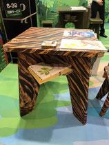 オリジナルデザイン 強化ダンボールテーブル