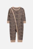 Hust & Claire - Schlafanzug Leopard aus Wolle und Seide