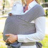 Little Wombat Baby Wrap - Classic Stripes