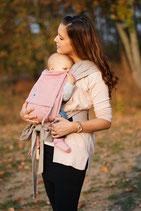 Limas Babytrqage - rosa/beige