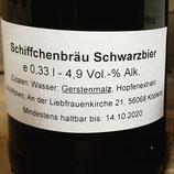 SchiffchenBräu Schwarzbier 4,9%