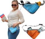 Hipbag, Bauchtasche mit Flaschenhalter