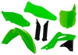 Plastikkit KXF 250 2013-2016 neon grün/schwarz 6 tlg.