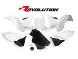 R-Tech Revolution Plastikkit YZ 125-250 02-17/WR 250 16 weiß inkl. Tank