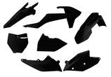Plastikkit KTM SX/SXF 2016- schwarz 6-teilig