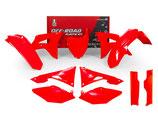 Plastikkit CRF 450 17- 250 18- Neon Rot 7tlg.