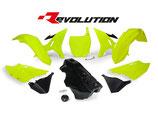 R-Tech Revolution Plastikkit YZ 125-250 02-17/WR 250 16 neon inkl. Tank