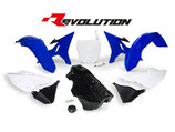 R-Tech Revolution Plastikkit YZ 125-250 02-17/WR 250 16 blau inkl. Tank