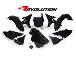 R-Tech Revolution Plastikkit YZ 125-250 02-17/WR 250 16 schwarz inkl. Tank