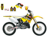 REPLICA TEAM SUZUKI ROCKSTAR WORLD MXGP 2015 AUFKLEBER KIT