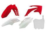 Plastikkit CRF 450 09-12,CRF 250 10-13 rot/weiß OEM 5tlg.