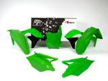 Plastikkit KXF 250 17- Grün/schwarz 5 tlg.