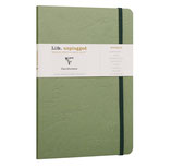 Clairefontaine Roadbook A5, Softcover green, 64 sheets, 90g/m² white