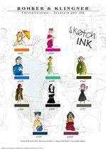 Rohrer & Klingner SketchINK Samples