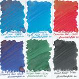 DeAtramentis Pearlescent inks 2ml