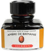 Herbin 30ml Ambre de Birmanie