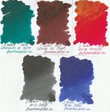 Herbin 1670 Shimmer inks