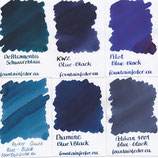 Blue Black Ink Bundle