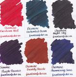 Diamine Shimmertastic Ink Samples 2ml