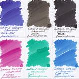 Rohrer & Klingner Dokumentus Ink samples