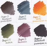 Super5 Ink Samples