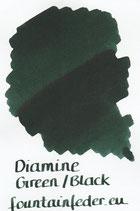 Diamine 80ml Green Black