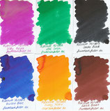 Platinum Mixable Ink Samples