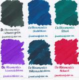 DeAtramentis Ink Samples