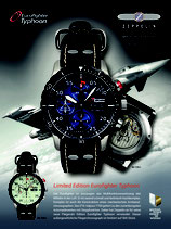 Limited Edtion Eurofighter Tycoon blue