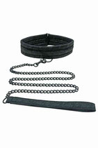 Lace Collar and Leash By Sportsheets (Ref. 27152003)