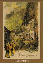"""2 Ansichtskarten """"Mönche in Salzburg"""""""