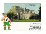 "Ansichtskarte ""Soazburga san ma ....."""