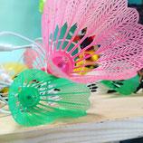 Guirlande badminton couleur